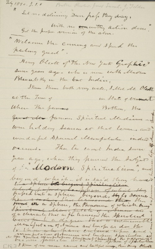 Notes, 1890-02