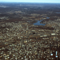 Downtown Woonsocket (Aerial)